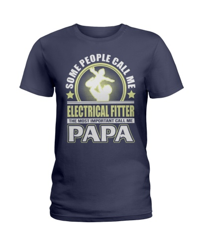 CALL ME ELECTRICAL FITTER PAPA JOB SHIRTS