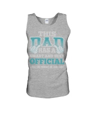 DAD HAS SEXY OFFICIAL JOB SHIRTS Unisex Tank thumbnail