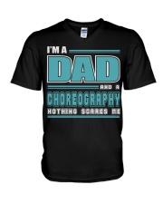 DAD AND CHOREOGRAPHY JOB SHIRTS V-Neck T-Shirt thumbnail