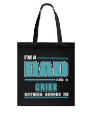 DAD AND CRIER JOB SHIRTS Tote Bag thumbnail