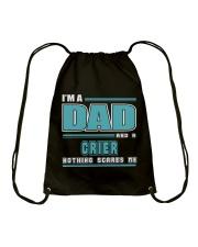 DAD AND CRIER JOB SHIRTS Drawstring Bag thumbnail