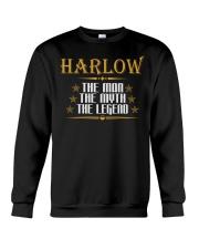 HARLOW THE MAN THE LEGEND SHIRTS Crewneck Sweatshirt thumbnail