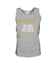 HARLOW THE MAN THE LEGEND SHIRTS Unisex Tank tile