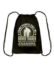 CALL ME DRIVER TRAINER GRANDPA JOB SHIRTS Drawstring Bag thumbnail
