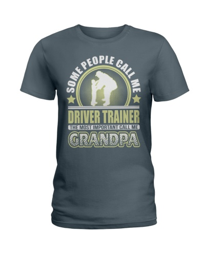 CALL ME DRIVER TRAINER GRANDPA JOB SHIRTS