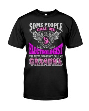 CALL ME ELECTROLOGIST GRANDMA JOB SHIRTS Premium Fit Mens Tee thumbnail