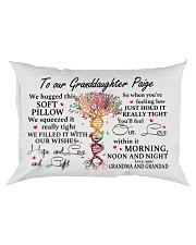 MY LOVE - LOVELY GIFT FOR GRANDDAUGHTER PAIGE Rectangular Pillowcase front