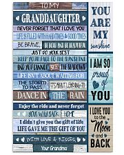 YOU ARE MY SUNSHINE - BEST GIFT FOR GRANDDAUGHTER 11x17 Poster front