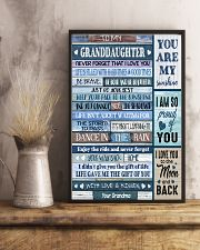 YOU ARE MY SUNSHINE - BEST GIFT FOR GRANDDAUGHTER 11x17 Poster lifestyle-poster-3