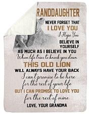 I LOVE YOU - GRANDMA TO GRANDDAUGHTER Sherpa Fleece Blanket tile