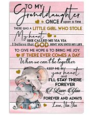 STOLE MY HEART - SPECIAL GIFT FOR GRANDDAUGHTER 11x17 Poster front