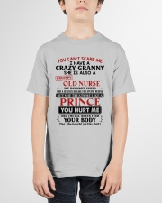 YOU CAN'T SCARE ME - PERFECT GIFT FOR GRANNY Youth T-Shirt garment-youth-tshirt-front-01
