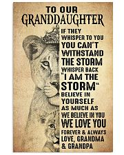 BELIEVE IN YOU - BEST GIFT FOR GRANDDAUGHTER 11x17 Poster front