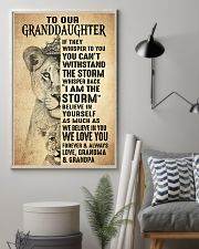 BELIEVE IN YOU - BEST GIFT FOR GRANDDAUGHTER 11x17 Poster lifestyle-poster-1