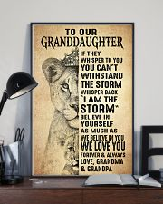 BELIEVE IN YOU - BEST GIFT FOR GRANDDAUGHTER 11x17 Poster lifestyle-poster-2