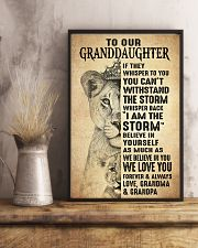 BELIEVE IN YOU - BEST GIFT FOR GRANDDAUGHTER 11x17 Poster lifestyle-poster-3