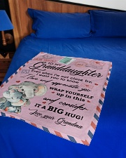 """IT A BIG HUG - LOVELY GIFT FOR GRANDDAUGHTER Small Fleece Blanket - 30"""" x 40"""" aos-coral-fleece-blanket-30x40-lifestyle-front-02"""