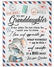 IT A BIG HUG - LOVELY GIFT FOR GRANDDAUGHTER Fleece Blanket tile