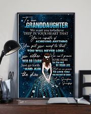 YOU WILL NEVER LOSE - BEST GIFT FOR GRANDDAUGHTER 11x17 Poster lifestyle-poster-2
