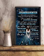 YOU WILL NEVER LOSE - BEST GIFT FOR GRANDDAUGHTER 11x17 Poster lifestyle-poster-3