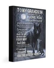 NEVER FORGET THAT I LOVE YOU GIFT FOR GRANDSON 11x14 Gallery Wrapped Canvas Prints front
