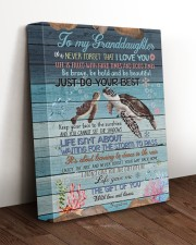 JUST DO YOUR BEST - GREAT GIFT FOR GRANDDAUGHTER 11x14 Gallery Wrapped Canvas Prints aos-canvas-pgw-11x14-lifestyle-front-17