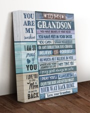 BELIEVE IN YOURSELF - FOR GRANDSON FROM GRANDMA 11x14 Gallery Wrapped Canvas Prints aos-canvas-pgw-11x14-lifestyle-front-17