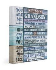 BELIEVE IN YOURSELF - FOR GRANDSON FROM GRANDMA 11x14 Gallery Wrapped Canvas Prints front