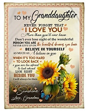 "YOU ARE MY SUNSHINE - BEST GIFT FOR GRANDDAUGHTER Small Fleece Blanket - 30"" x 40"" front"