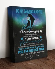 I LOVE YOU - SPECIAL GIFT FOR GRANDDAUGHTER 11x14 Gallery Wrapped Canvas Prints aos-canvas-pgw-11x14-lifestyle-front-17