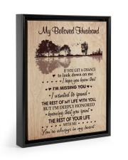 I'M MISSING YOU - PERFECT GIFT FOR WIFE 11x14 Black Floating Framed Canvas Prints thumbnail