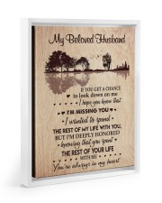 I'M MISSING YOU - PERFECT GIFT FOR WIFE 11x14 White Floating Framed Canvas Prints thumbnail
