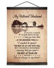 I'M MISSING YOU - PERFECT GIFT FOR WIFE 12x16 Black Hanging Canvas thumbnail