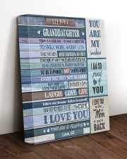 I LOVE YOU - TO GRANDDAUGHTER FROM GG 11x14 Gallery Wrapped Canvas Prints aos-canvas-pgw-11x14-lifestyle-front-17