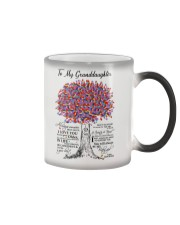JUST DO YOUR BEST - SPECIAL GIFT FOR GRANDDAUGHTER Color Changing Mug thumbnail