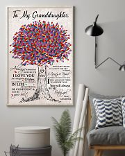 JUST DO YOUR BEST - SPECIAL GIFT FOR GRANDDAUGHTER 11x17 Poster lifestyle-poster-1
