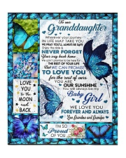 "I'M SO PROUD OF YOU - BEST GIFT FOR GRANDDAUGHTER Quilt 50""x60"" - Throw front"