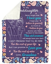 "I BELIEVE IN YOU - BEST GIFT FOR GRANDDAUGHTER Large Sherpa Fleece Blanket - 60"" x 80"" thumbnail"