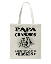 PAPA-GRANDSON Tote Bag tile