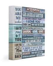 I LOVE YOU - SPECIAL GIFT FOR GRANDDAUGHTER 11x14 Gallery Wrapped Canvas Prints front
