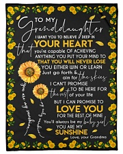 "YOU ARE MY SUNSHINE - GRANDMA TO GRANDDAUGHTER Small Fleece Blanket - 30"" x 40"" front"