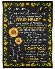 YOU ARE MY SUNSHINE - GRANDMA TO GRANDDAUGHTER Fleece Blanket tile