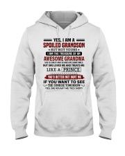 YES I AM A SPOILED GRANDSON Hooded Sweatshirt tile