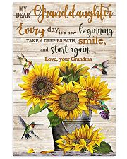 TAKE A DEEP BREATH - BEST GIFT FOR GRANDDAUGHTER 11x17 Poster front