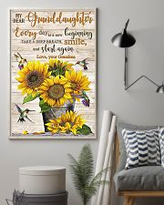 TAKE A DEEP BREATH - BEST GIFT FOR GRANDDAUGHTER 11x17 Poster lifestyle-poster-1