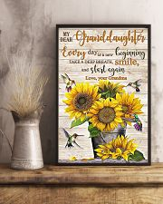 TAKE A DEEP BREATH - BEST GIFT FOR GRANDDAUGHTER 11x17 Poster lifestyle-poster-3