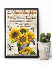 TAKE A DEEP BREATH - BEST GIFT FOR GRANDDAUGHTER 11x17 Poster lifestyle-poster-8