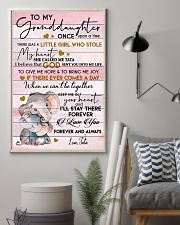 I LOVE YOU - AMAZING GIFT FOR GRANDDAUGHTER 11x17 Poster lifestyle-poster-1