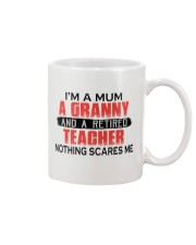 NOTHING SCARES ME - PERFECT GIFT FOR TEACHER  Mug tile