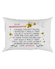 HOPE AND LOVE - GRANDMA TO GRANDDAUGHTER Rectangular Pillowcase front